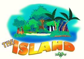 The Island logo by Mobis-New-Nest