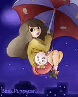 Bee and Puppycat by Say-Erizabesu