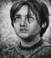 Game of Thrones - Arya Stark by Gigabeto