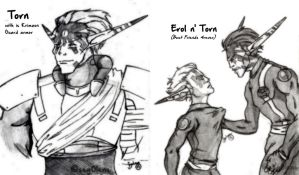 [Sketch] Torn and Erol by seg0lene