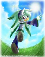 Mint the Snowhawk by EvilQueenie