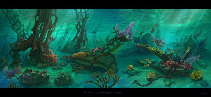Underwater Life by Azot2017