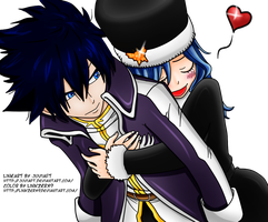 Gray X Juvia Embrace New Costumes by linkzerx9