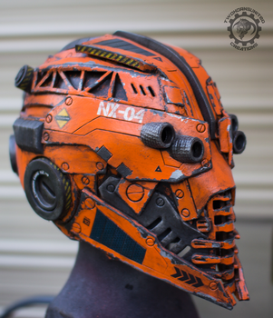 The Nexialist MkIV helmet (98% done) by TwoHornsUnited