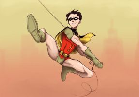 The Boy Wonder by Blooming-Pinguicula