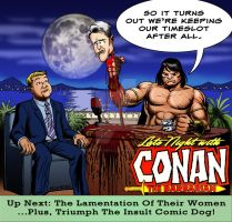 LIID Week 92: Ernie Chan / Conan Tribute! by johntrumbull