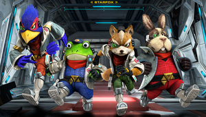 More Star Fox Zero offical artwork by Tyler5036