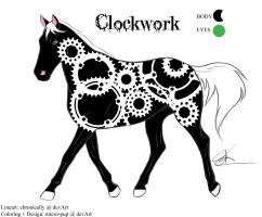 Character: Clockwork by micro-pup