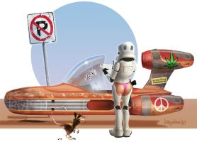parking ticket by Loopydave