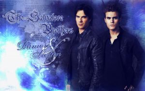 The Salvatore Brothers by JacobBlacksPrincess