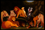 TLK: Rafiki in the Lions' Den by Ferisae