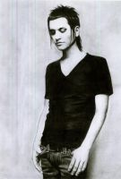 Brian Molko by MorbidOrchid