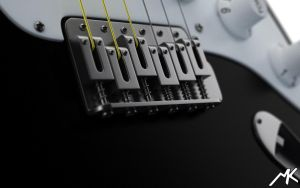 Fender - close up by flipper