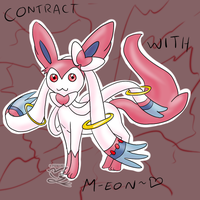 Contract with M-eon by Feniiku