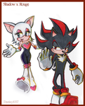 Shadow x Rouge by Inspired-Destiny