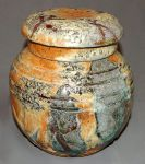 very large carved jar by cl2007
