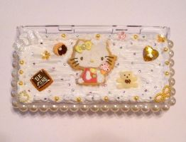 Autumn Hello Kitty DS Case by AmbiguousAngel
