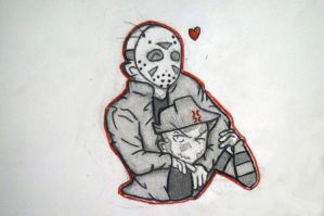 Jason loves Freddy by AlexAngelPrince