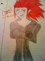 Quick Sketch of Axel by SighVerbally