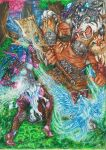 Battle for Ashenvale Forest by SoleiBee