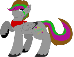 Codie the pony by AHSystemDown
