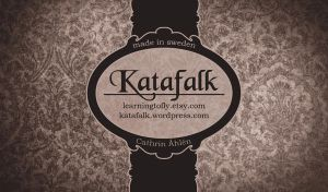 katafalk business cards by cattislearningtofly