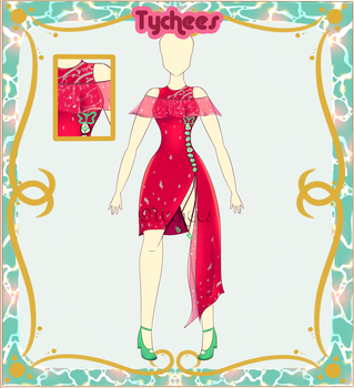 Outfit Adoptable (Auction) #16 (OPEN!!!!) by Tychees
