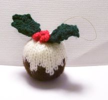 christmas pudding by themagpiesnest