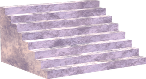 Stairs White Png Clipart by clipartcotttage