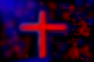 Christ Died for us by Tomboy1403