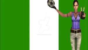 2014 World Cup: Nigeria's Representative by Stylistic86