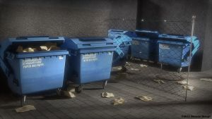 Garbage Container cycles render by DennisH2010