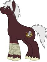 OC character name: Heavy Hoof (also know as War) by MegaBlack0X