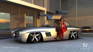 Mercedes 300SL Gullwing by mcmercslr