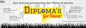 Diploma's Got Talent Banner by dendicious