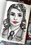 Agent Peggy Carter by FilipaP