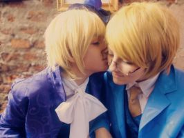 Hetalia: Cardverse AU - Just a kiss. by mahitred