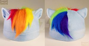 Rainbow Dash Inspired Hat by CosplayCousins