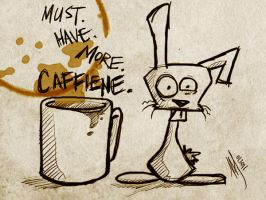 MUST. HAVE. MORE. CAFFEINE. by jaymetwins
