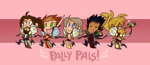 PALLY PALS by cazamonster
