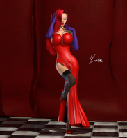 Jessica Rabbit 2 by oOLaLoutreOo