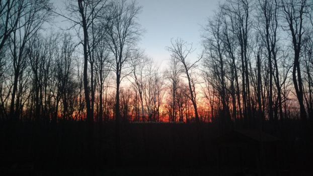 Southern Indiana Sunset by lunarlight94