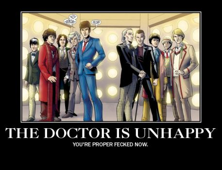 The Doctor Is Unhappy by masaruten