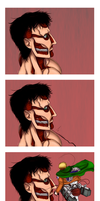 You Scared Me :: Titan-Nile + Erwin by fellow-traveller