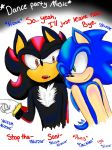 You've had too much to drink, Sonic. by LeopardfootWarrior