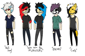 Masked Adoptables CLOSED by InfectedZombieX
