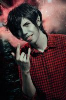 Marshall lee cosplay by xVIDx