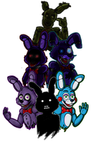 all the Bonnies by Sckorches