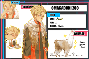 Omadobu : Amir by Kuro-Puppy