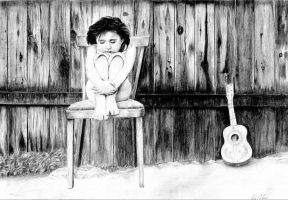 story about a girl and a guitar by NColmar